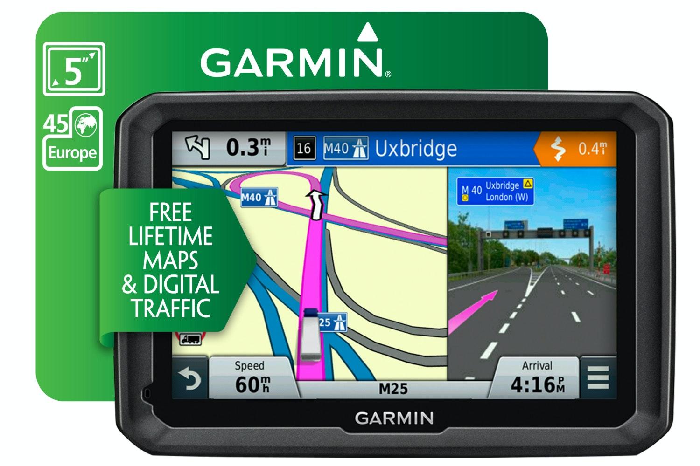 Garmin Dezl 570LMT-D Truck Sat Nav