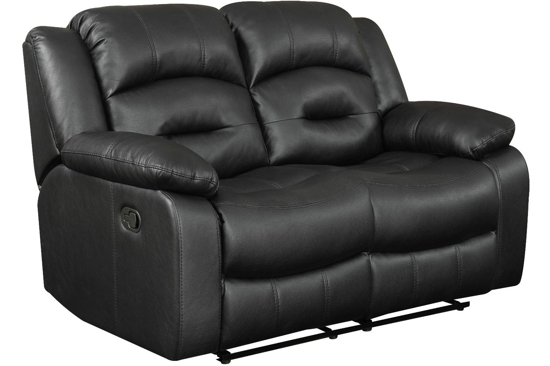 Hunter 2 Seater Sofa Recliner Black Harvey Norman Ireland