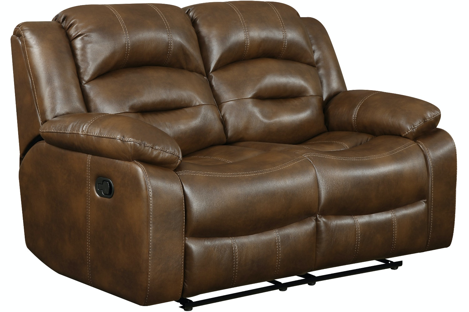 Hunter 2 Seater Recliner Sofa | Tan