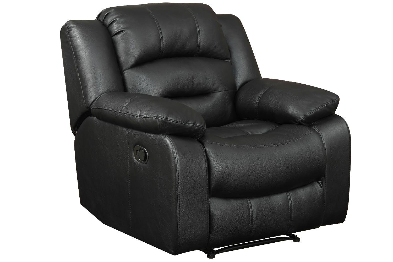 Hunter recliner chair black