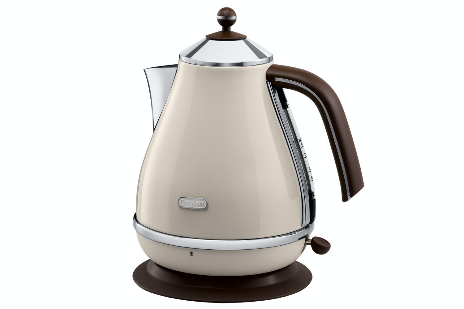 DeLonghi 1.7L Vintage Kettle  Cream