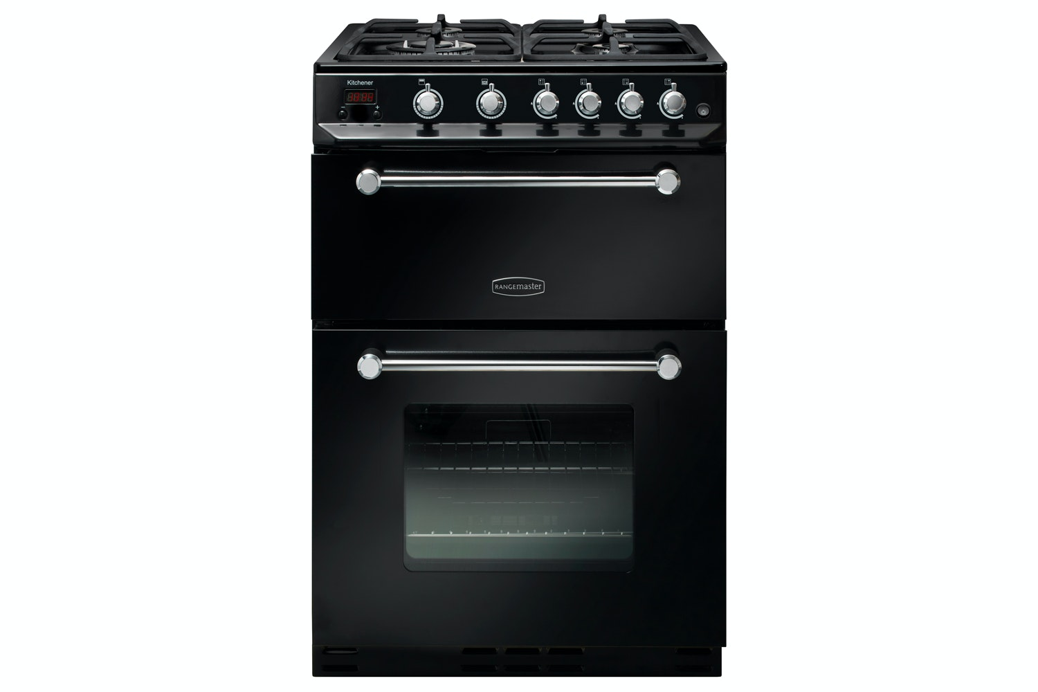 Rangemaster Kitchener Gas Cooker | KCH60NGFBL/C