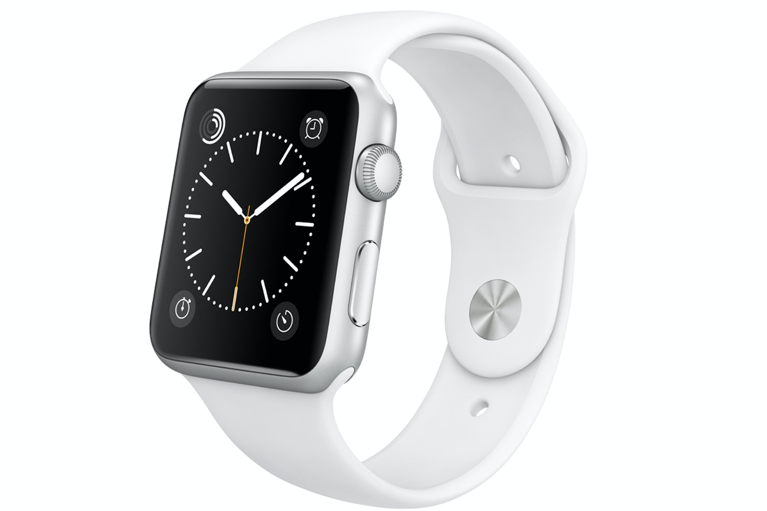 Apple Watch Sport | 42mm Silver Aluminium Case with White Sport Band