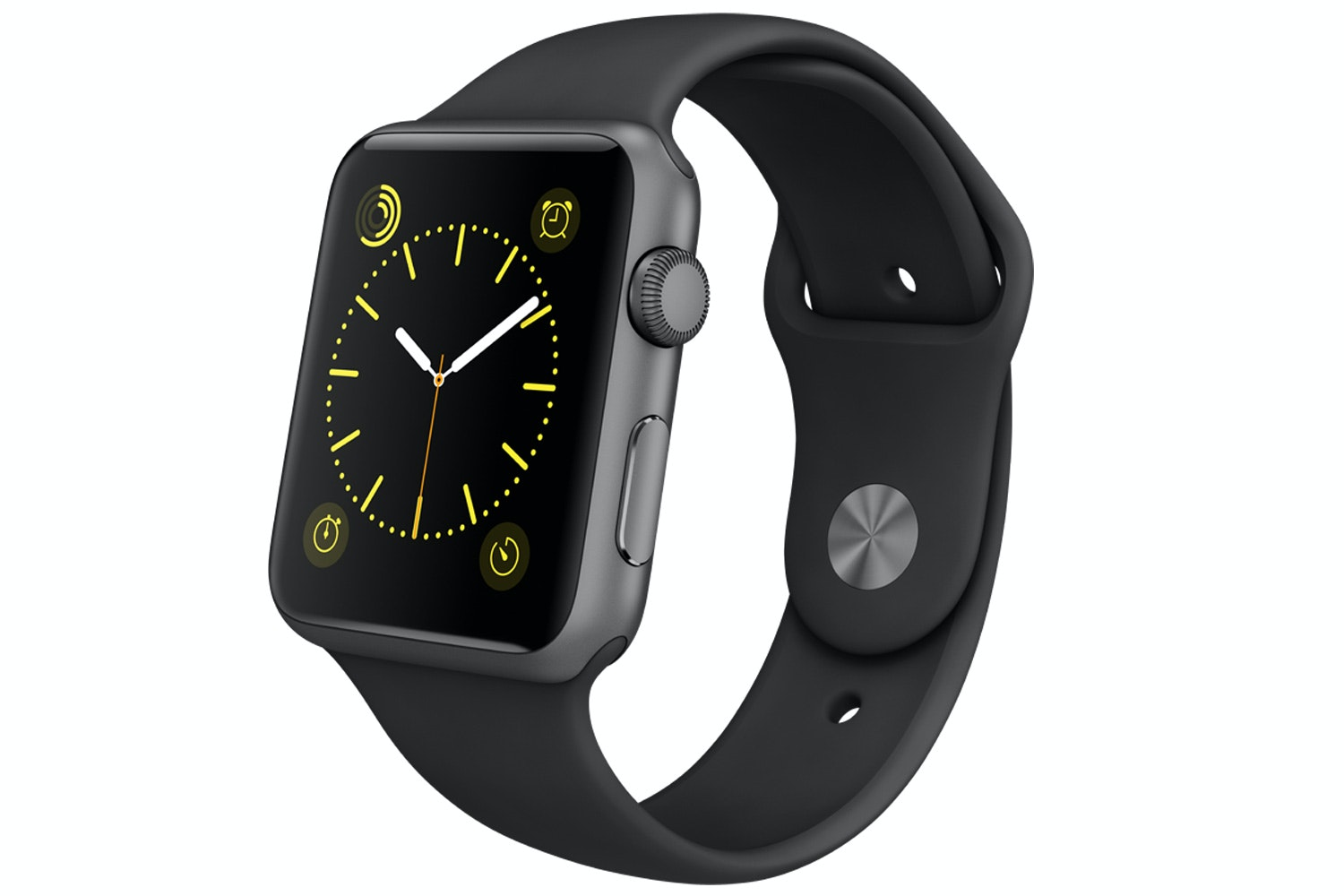 Apple Watch Sport | 42mm Space Grey Aluminium Case with Black Sport Band