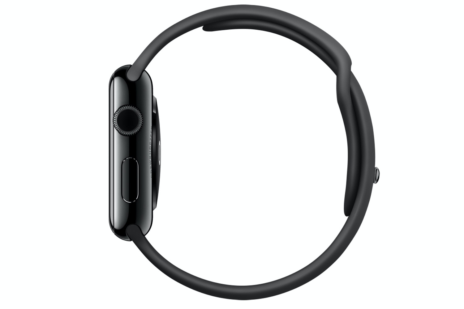 Apple Watch | 42mm Space Black Stainless Steel Case with Black Sport Band