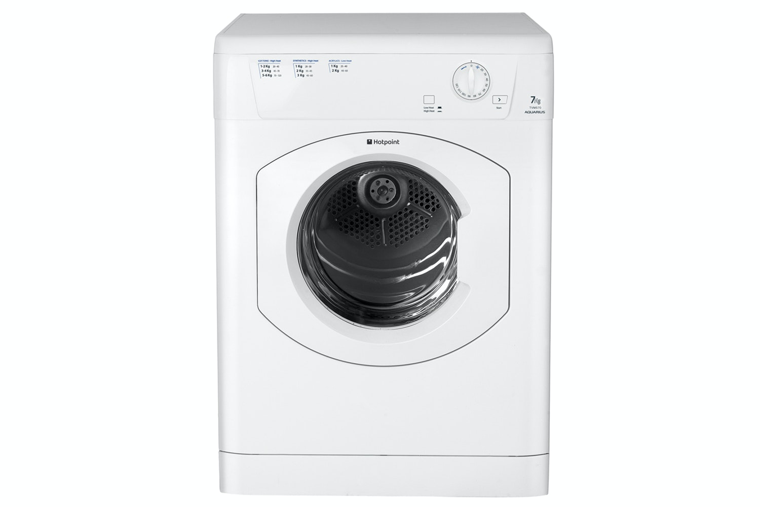 Hotpoint 7kg Vented Dryer | TVM570P