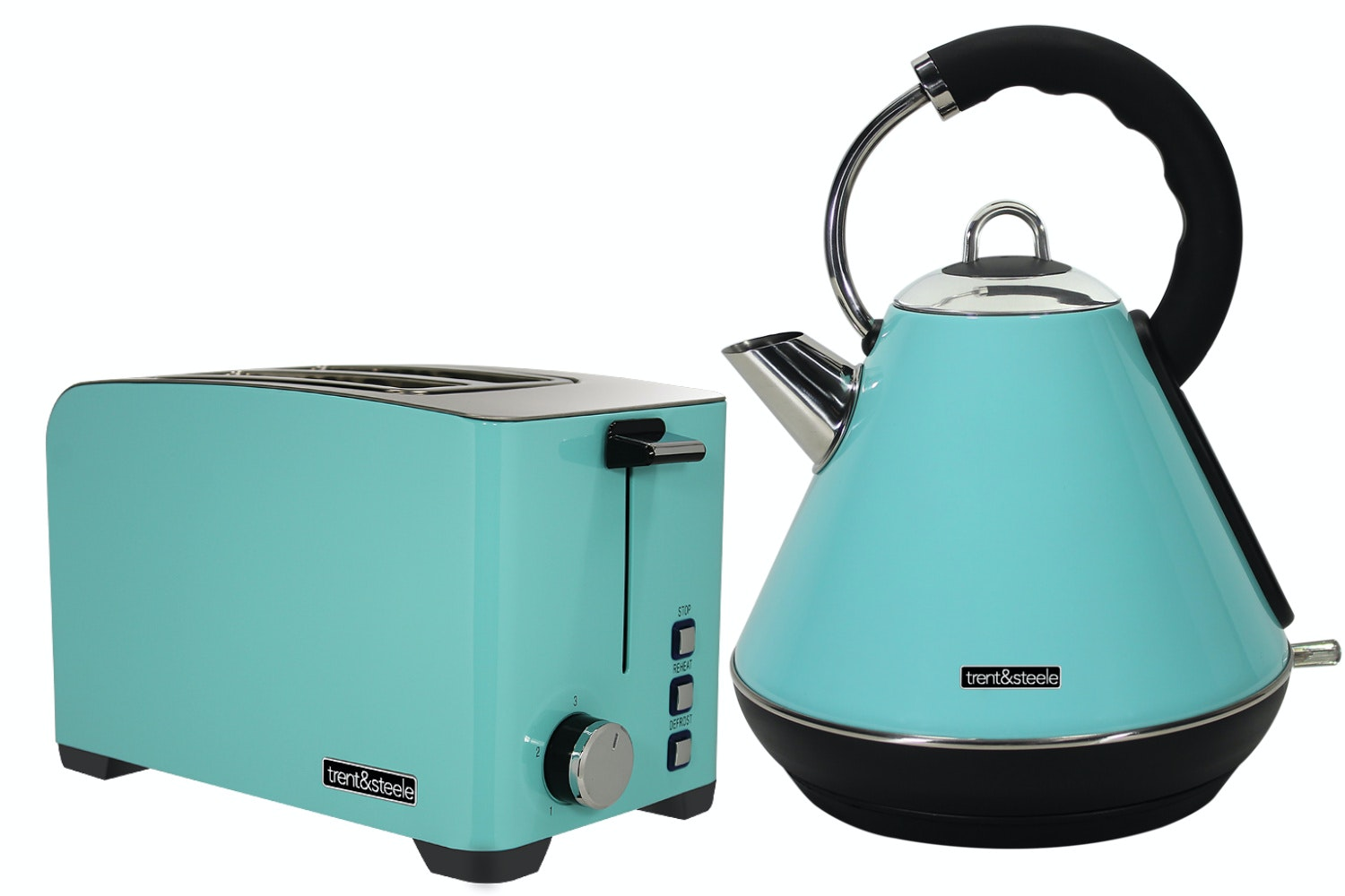Trent and Steele Kettle Blender and Toaster Bundle