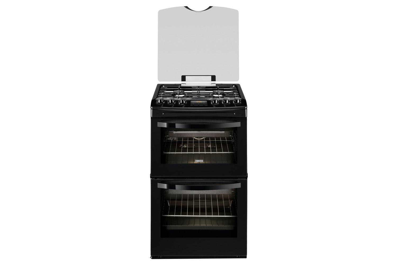 Zanussi 55cm Gas Cooker | ZCG43200BA | Black
