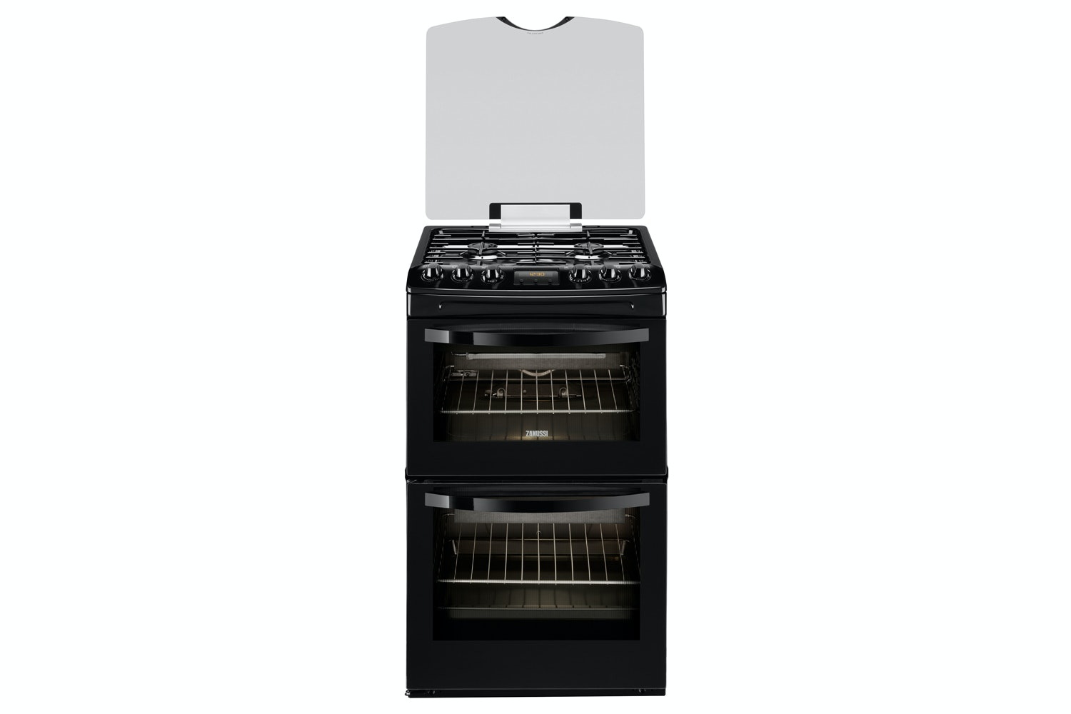 Zanussi 55cm Gas Cooker | ZCG43200BA | Black