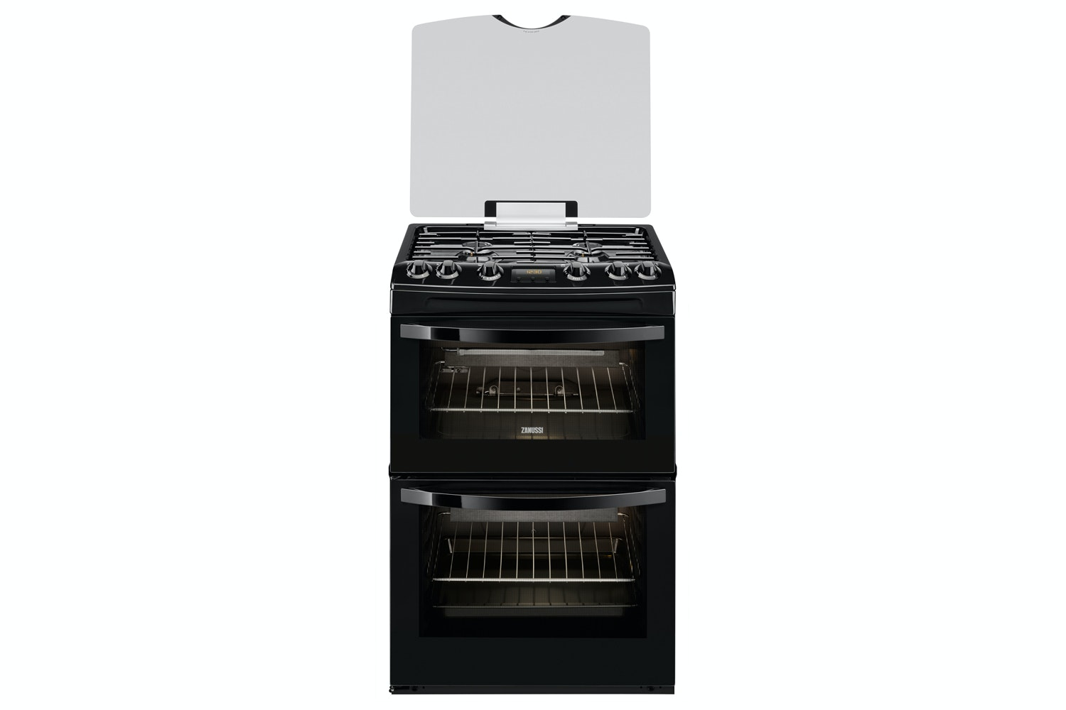 Zanussi 60cm Gas Cooker | ZCG63200BA | Black