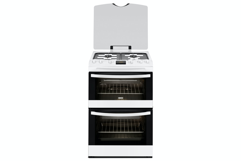 Zanussi 60cm Gas Cooker   ZCG63200WA   White