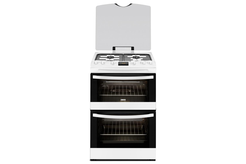 Zanussi 60cm Gas Cooker | ZCG63200WA | White