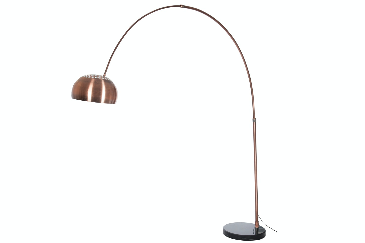 Copper Arch Lamp