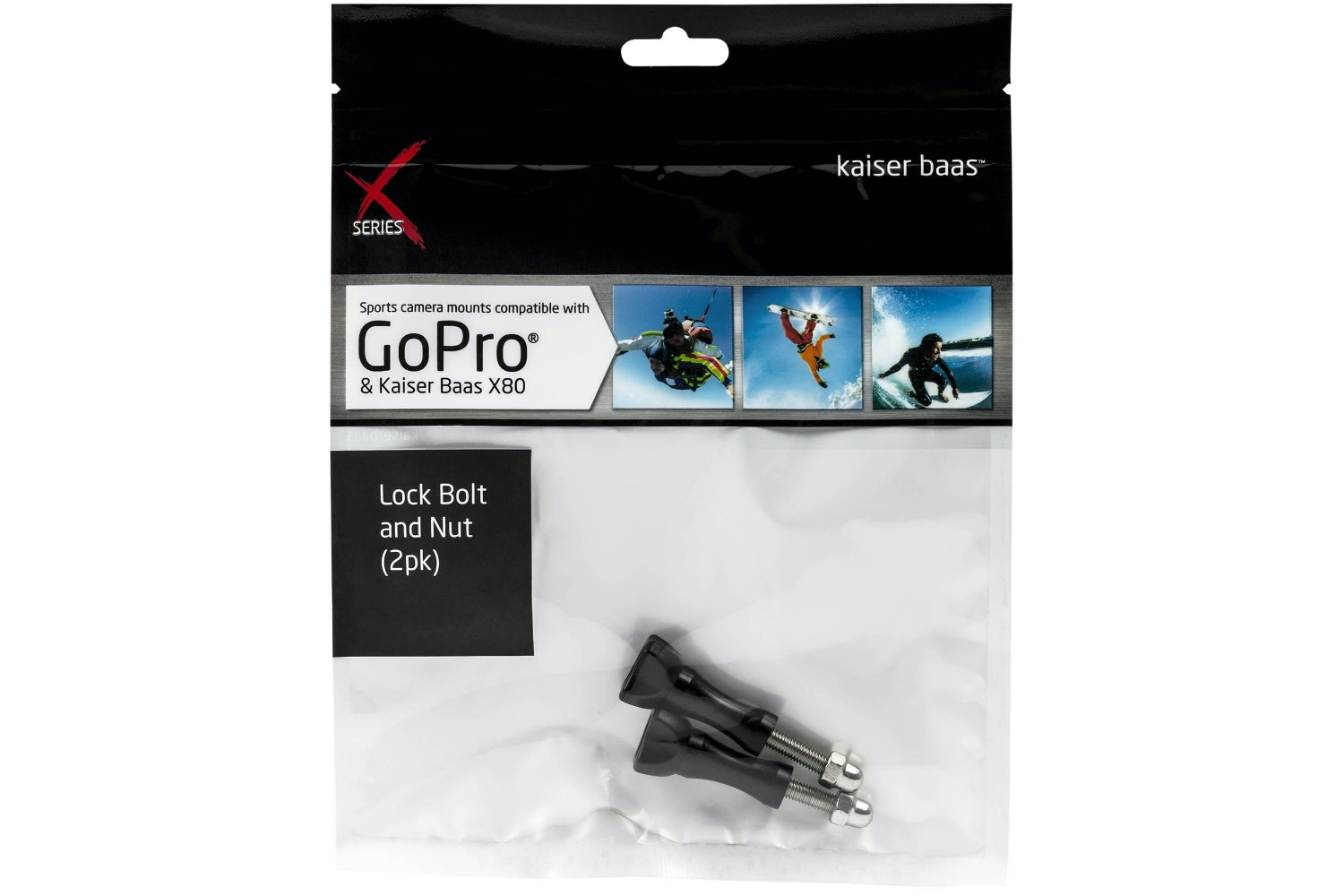 Kaiser Baas Lock Bolt & Nut | 2 Pack