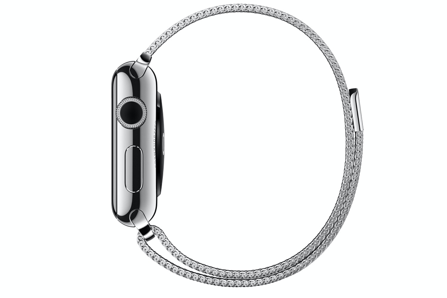 Apple Watch | 38mm Stainless Steel Case with Milanese Loop