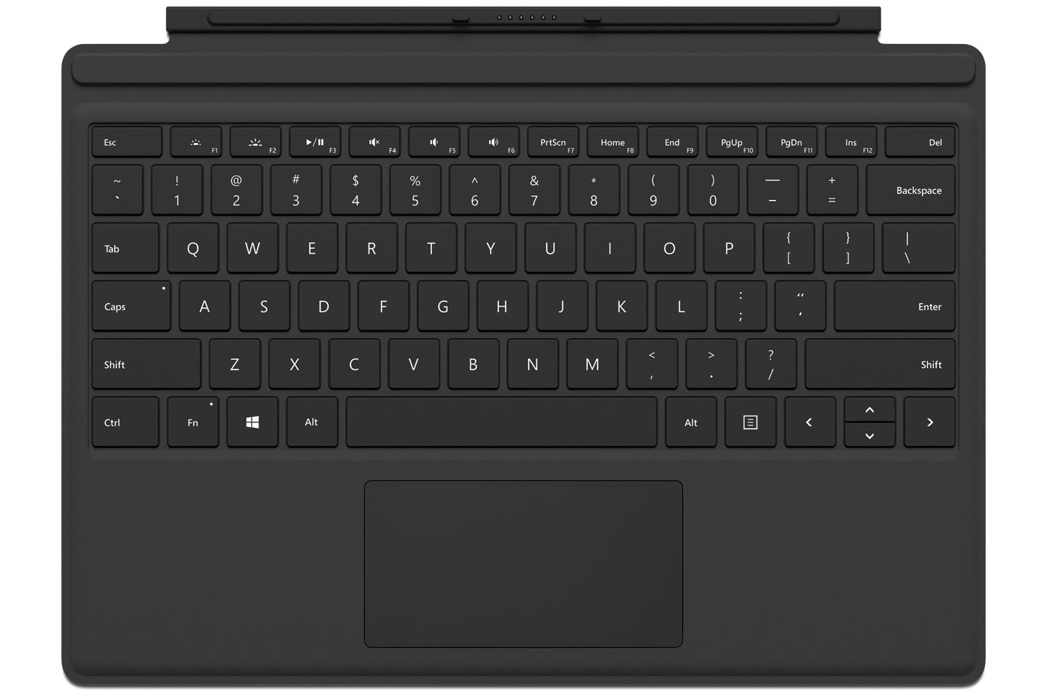 Surface Pro Type Cover | Black