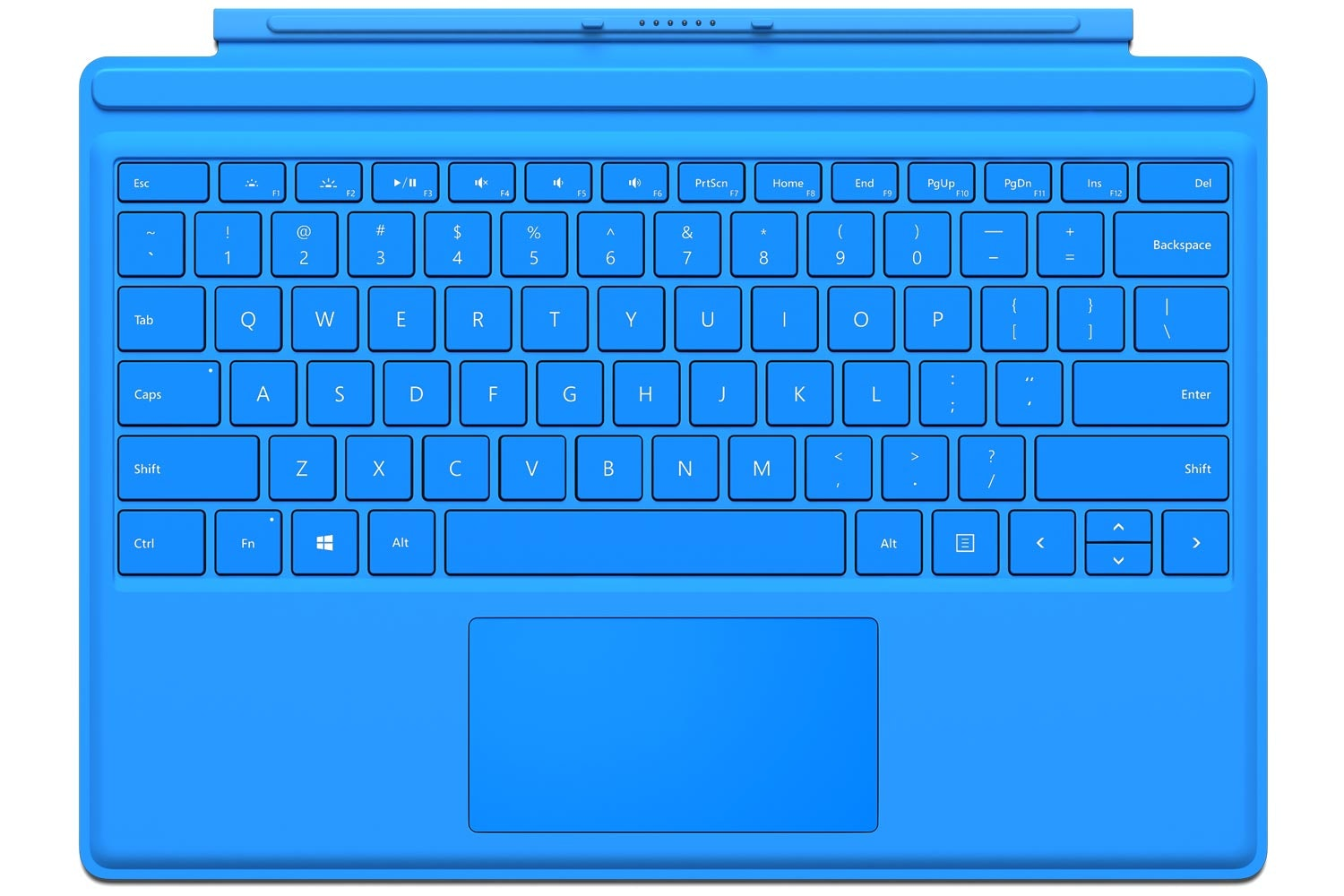 Surface Pro 4 | Type Cover | Bright Blue