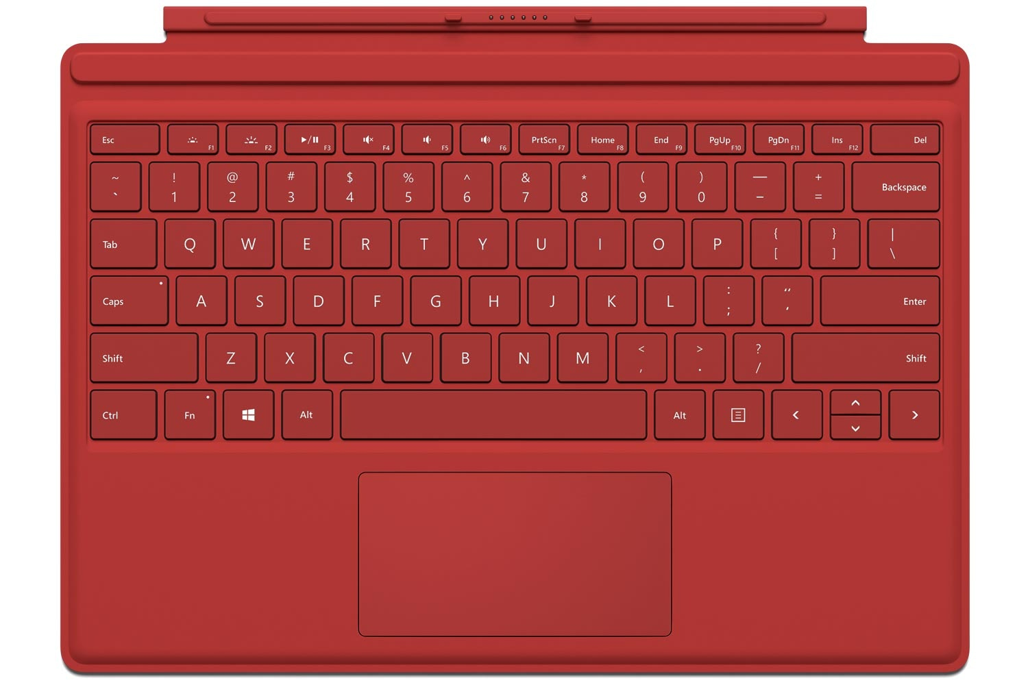 Surface Pro 4 | Type Cover | Red