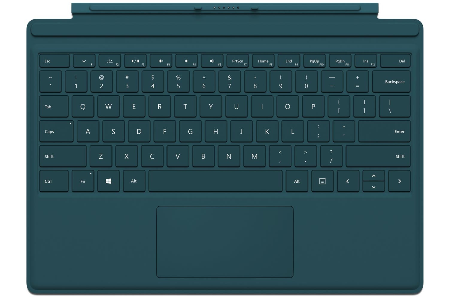 Surface Pro 4 | Type Cover | Teal