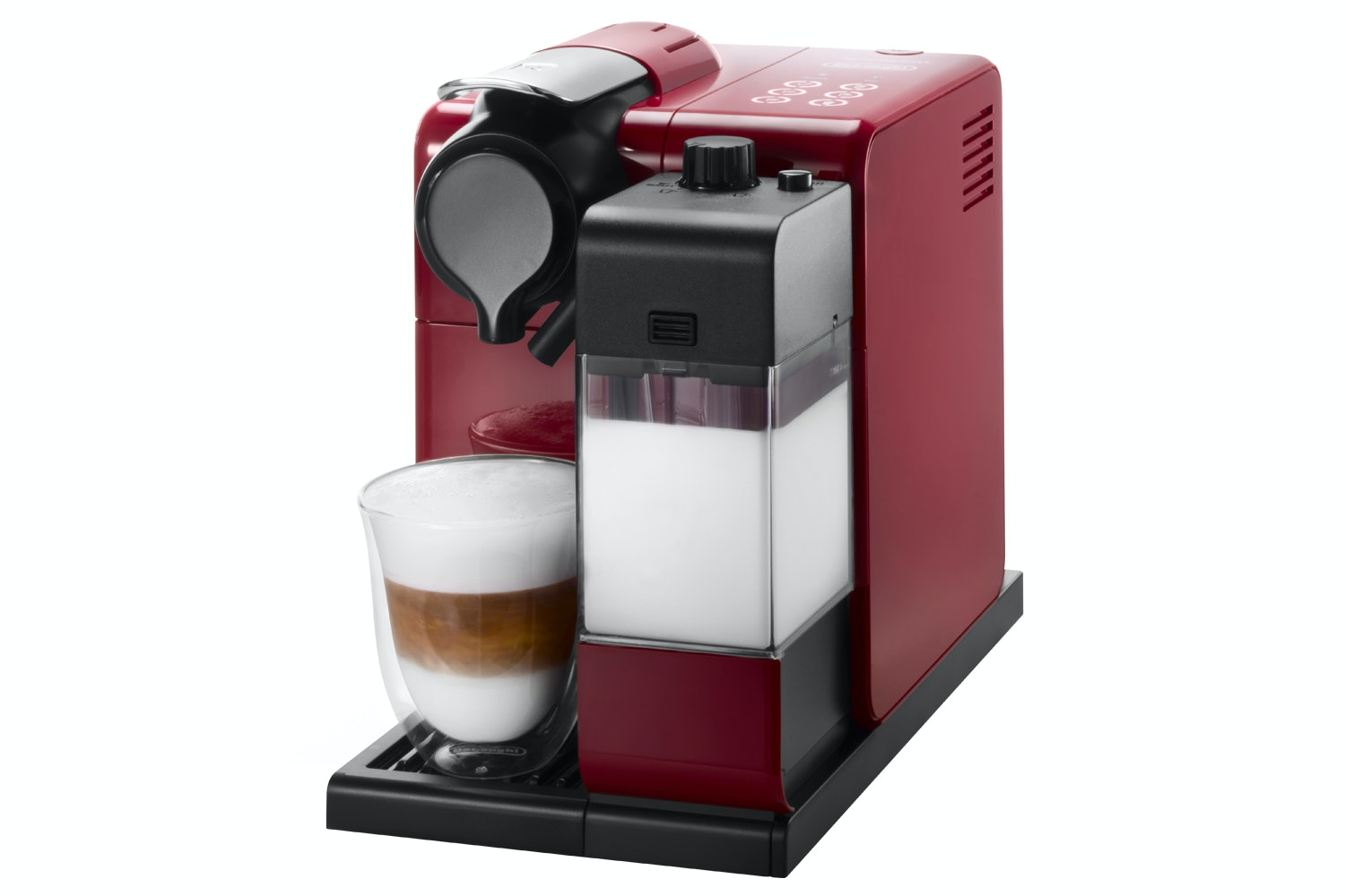 DeLonghi Nespresso Lattissima Touch Coffee Machine | Red
