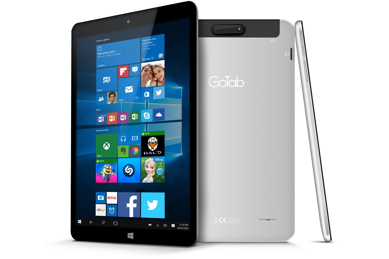 "GoTab 8"" Windows Tablet 