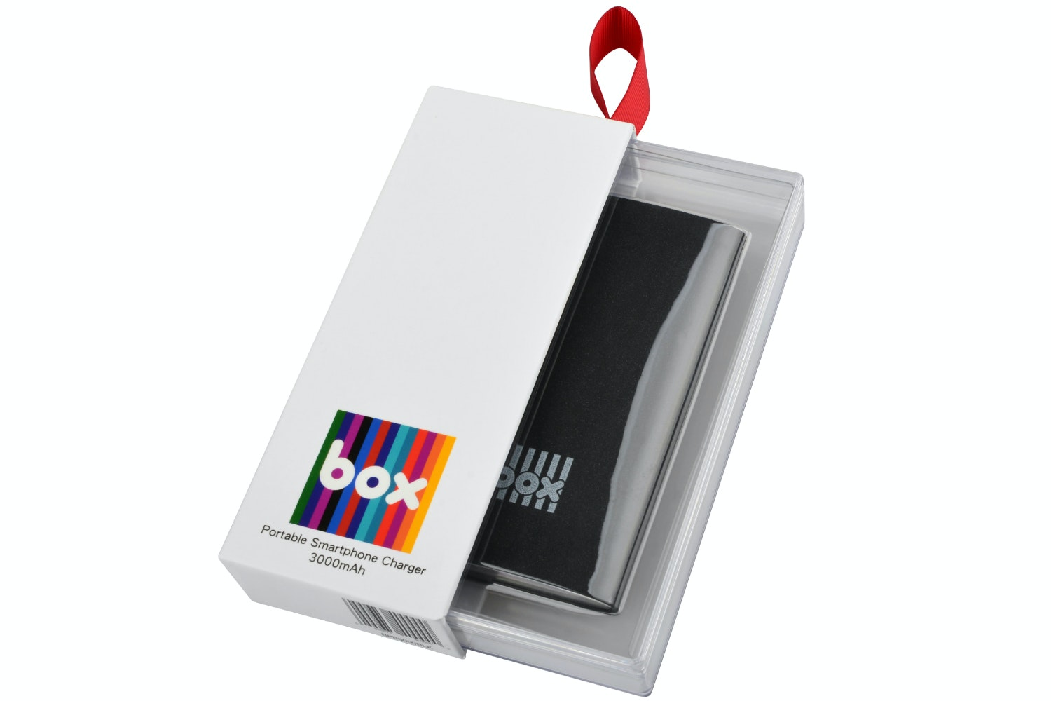 Box Smartphone Charger | Black