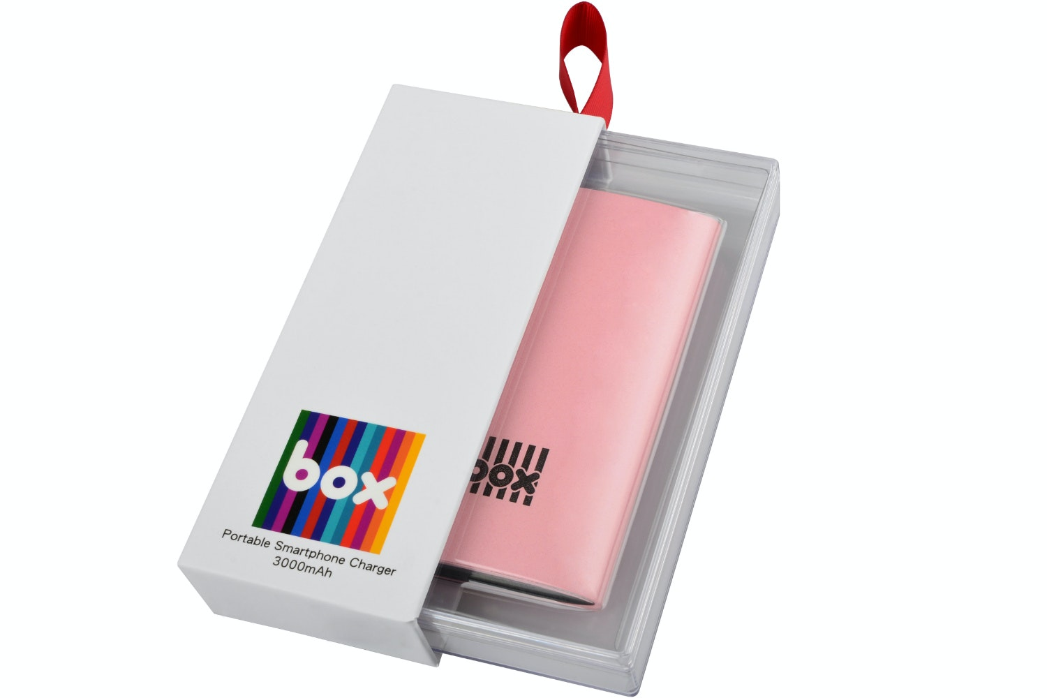 Box Smartphone Charger | Pink