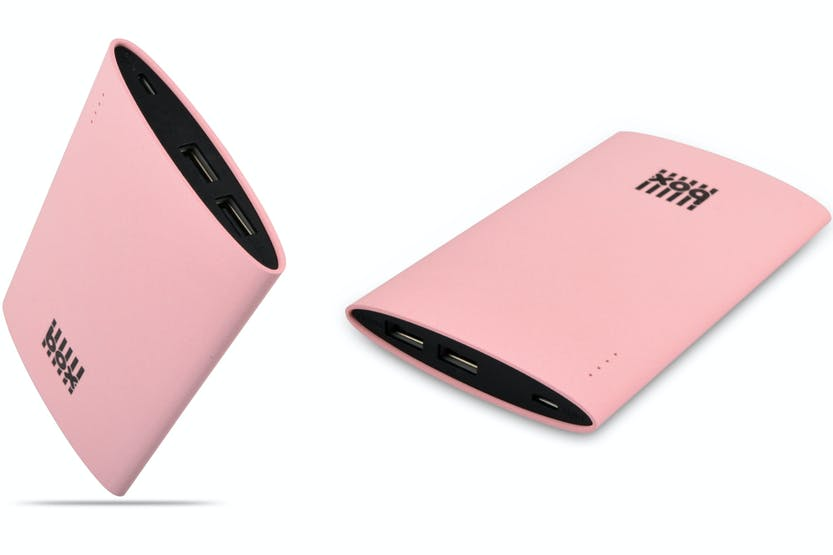 Box Portable Tablet Charger | Pink