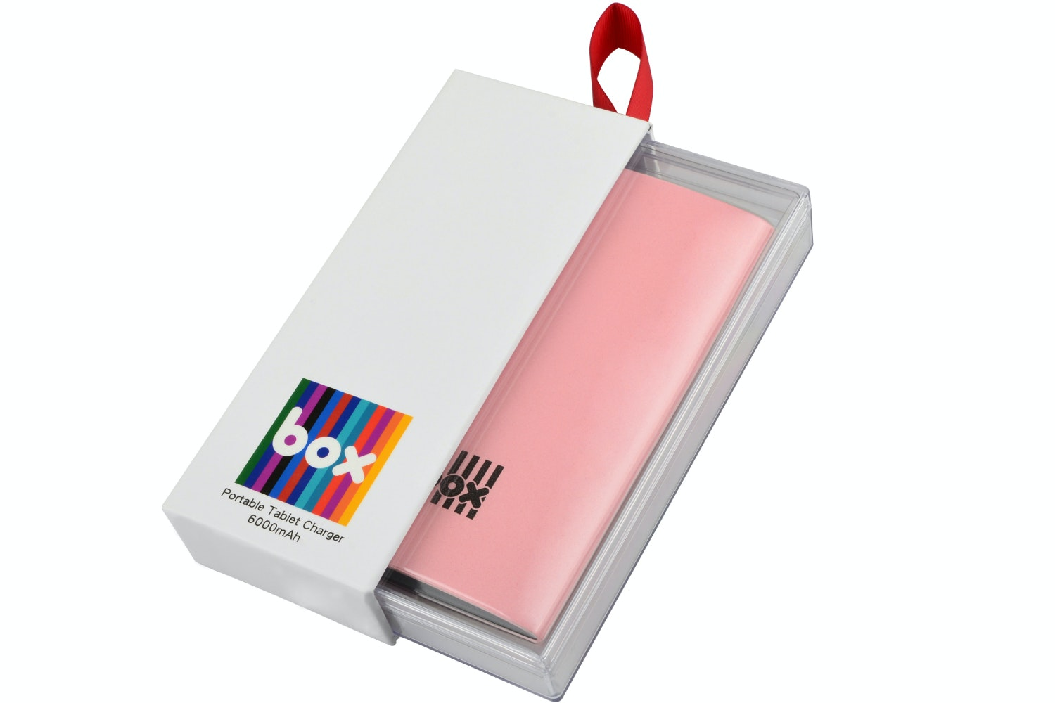 Box Tablet Charger | Pink