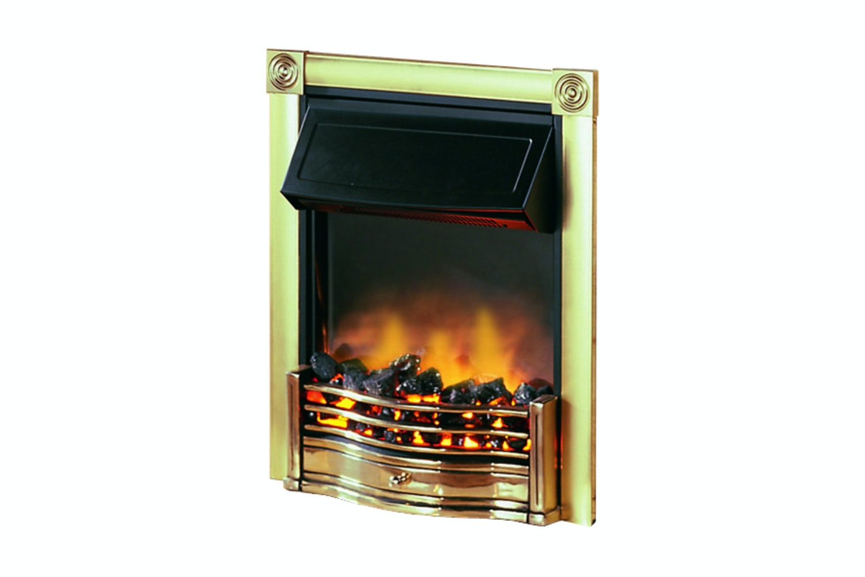 Dimplex Horton Fire | Brass