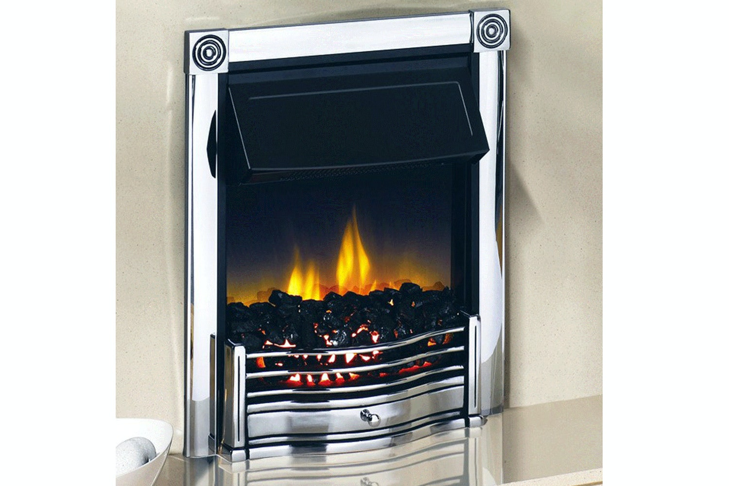 Dimplex Horton Fire | Chrome