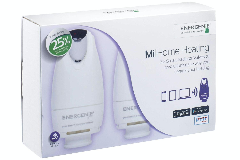Energenie Mi Home Radiator Valve | 2 Pack