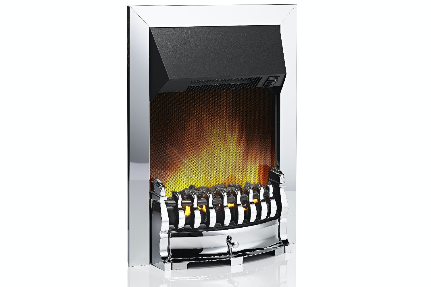 Dimplex Stamford Inset Fire | Chrome
