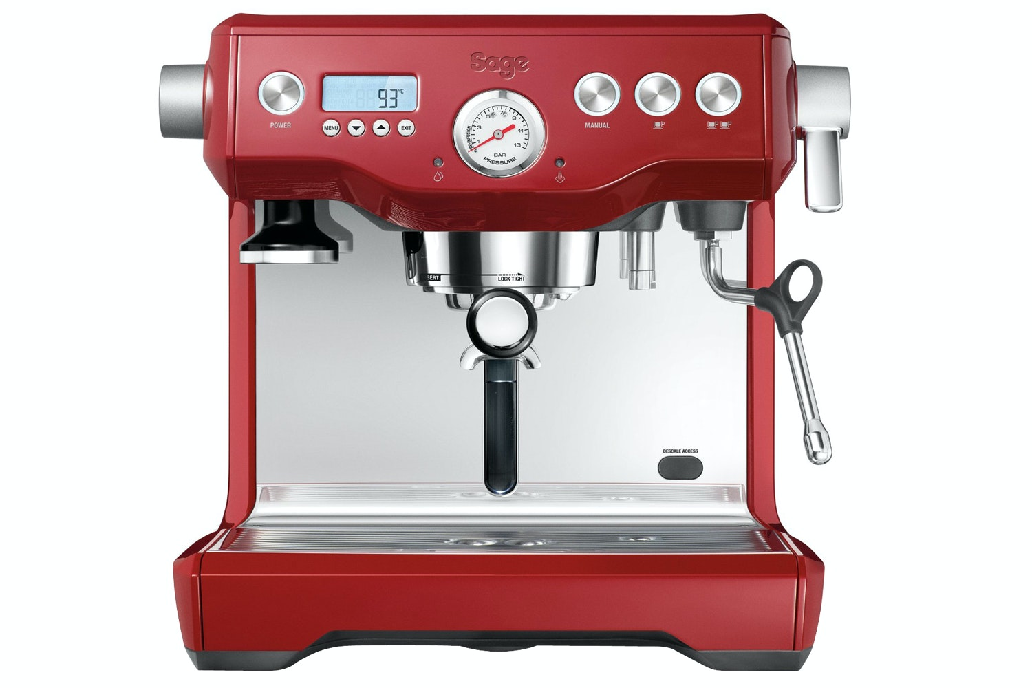Sage Dual Boiler Espresso Machine | Cranberry Edition