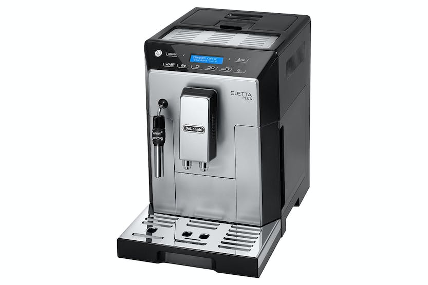 DeLonghi Eletta Plus Bean 2 Cup Coffee Machine | Silver
