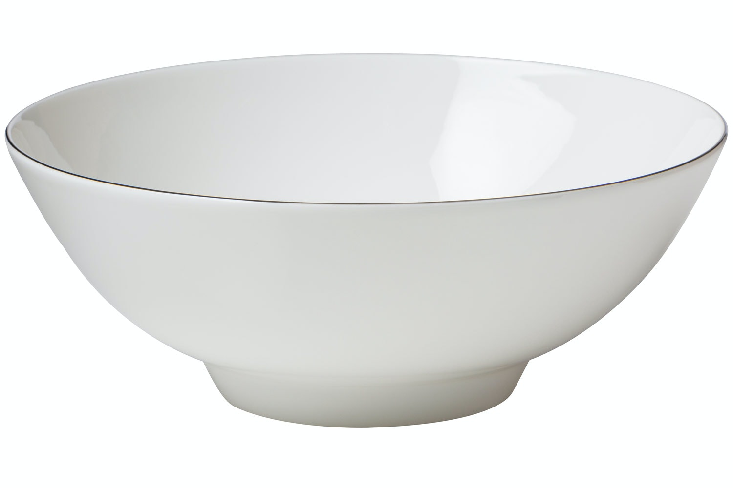 Come Dine With Me | Platinum Rim Serving Bowl