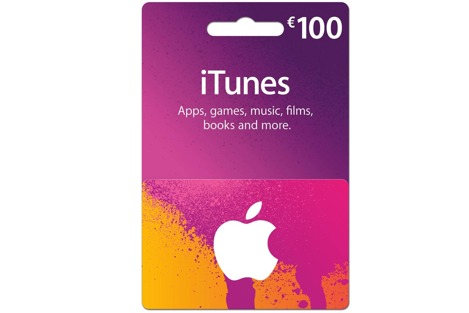 picture regarding Printable Itunes Gift Card referred to as \u20ac100 iTunes Present Card