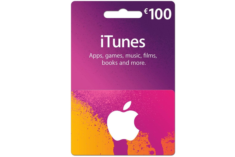 image regarding Itunes Printable Gift Card called \u20ac100 iTunes Present Card