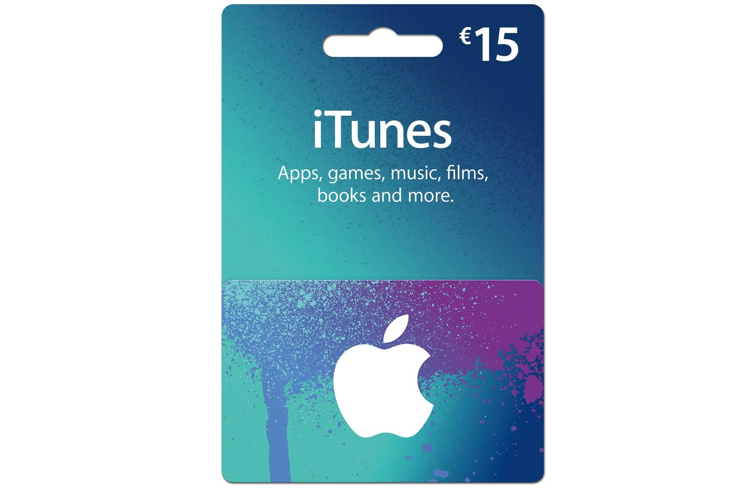 €15 iTunes Gift Card