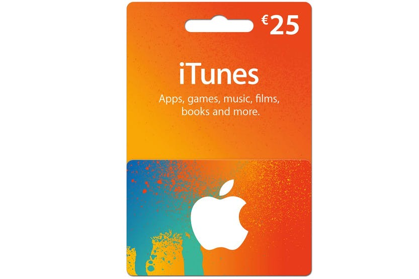 €25 iTunes Gift Card