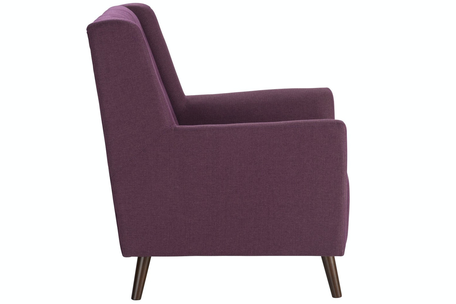 Jenna Accent Chair | Plum