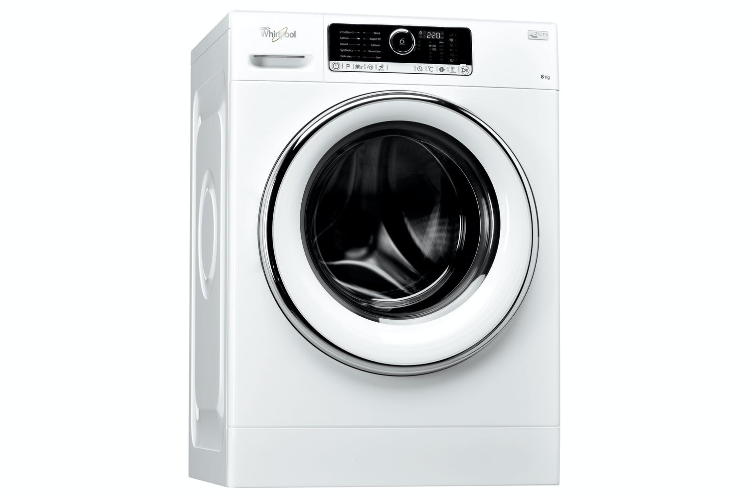Whirlpool 8kg 6th Sense Washing Machine | FSCR80424