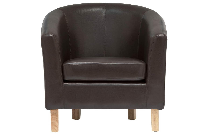 Jayla Tub Chair | Brown