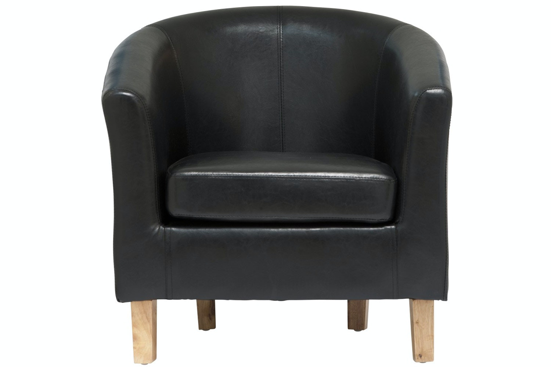 Jayla Tub Chair | Black