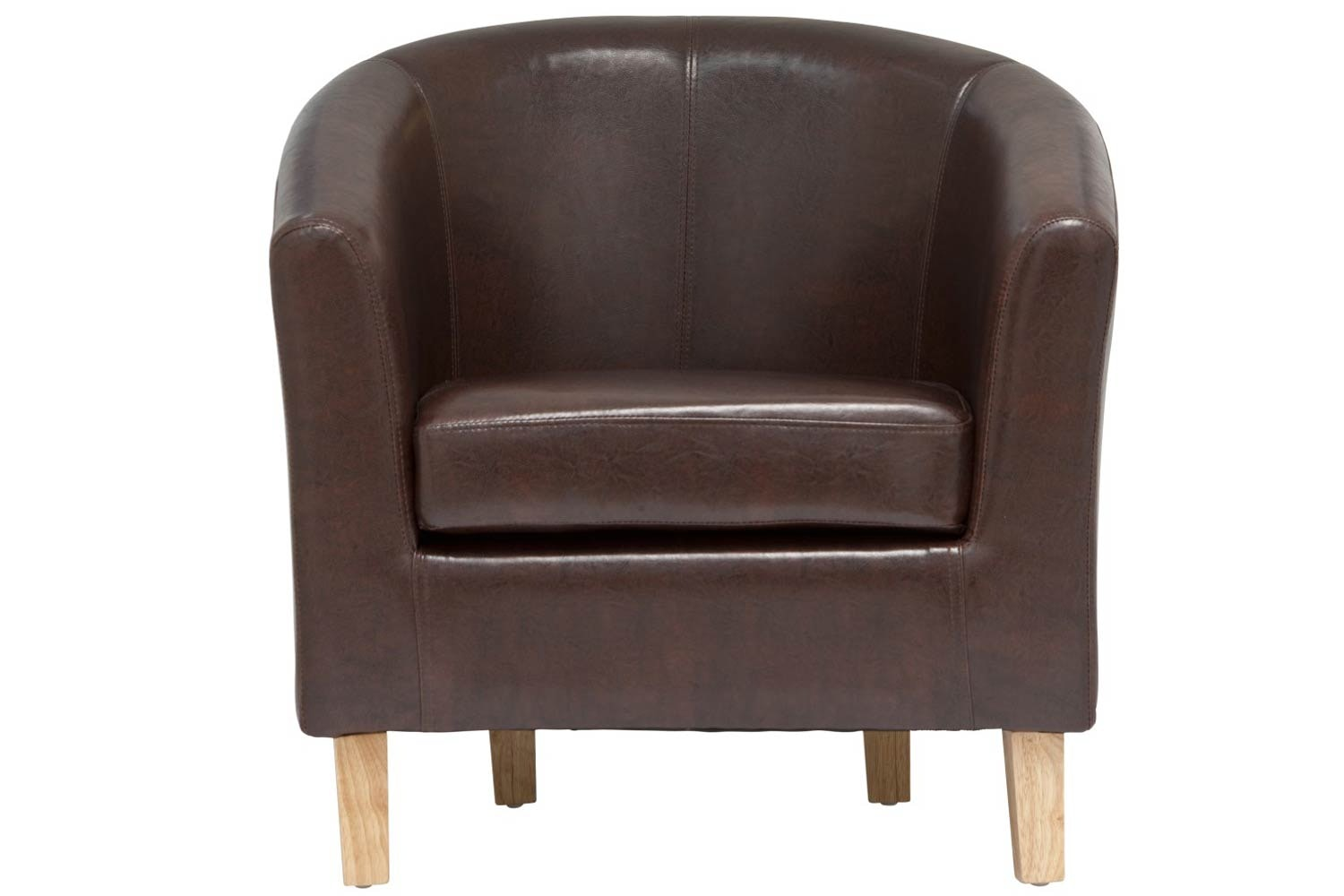 Jayla Tub Chair | Chestnut