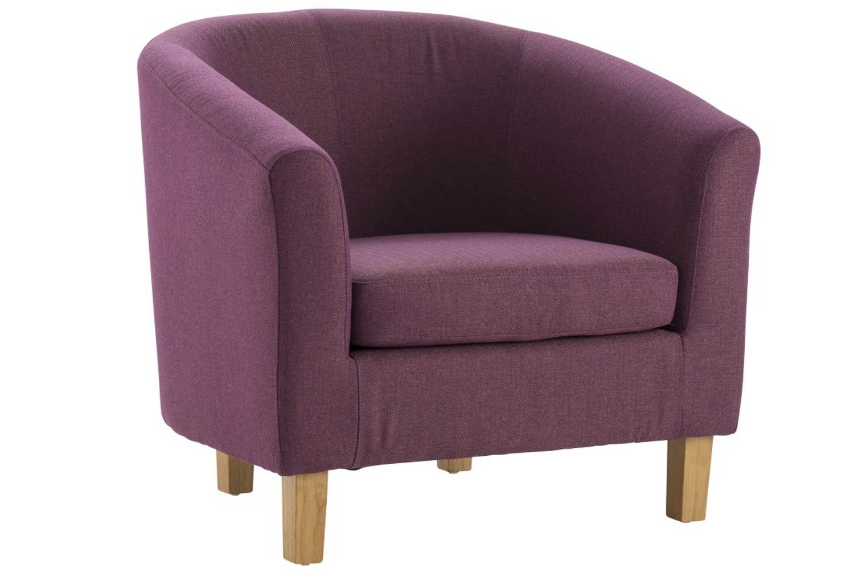 Jayla Tub Chair | Plum