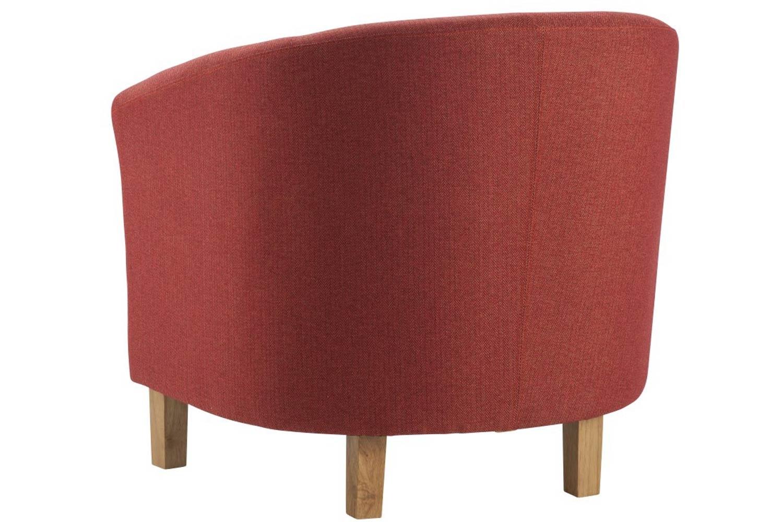 Jayla Tub Chair | Terracotta