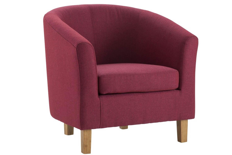 Jayla Tub Chair | Raspberry