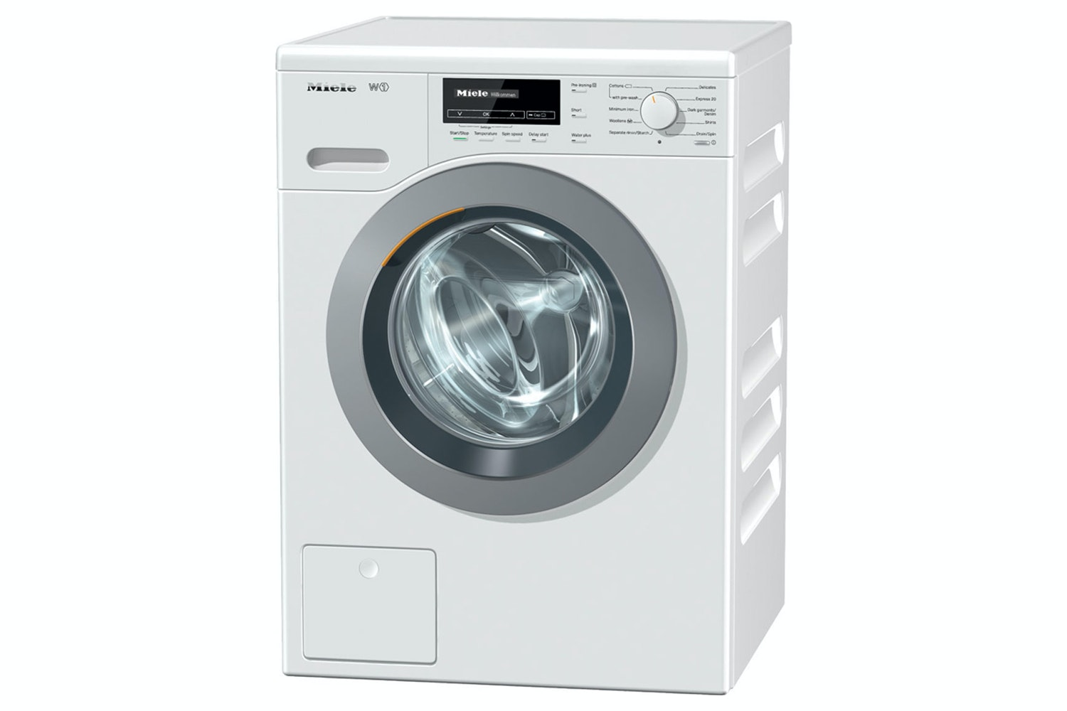 WKB 120  W1 Front-loading washing machine   With Softsteam honeycomb drum and CapDosing for perfect laundry care