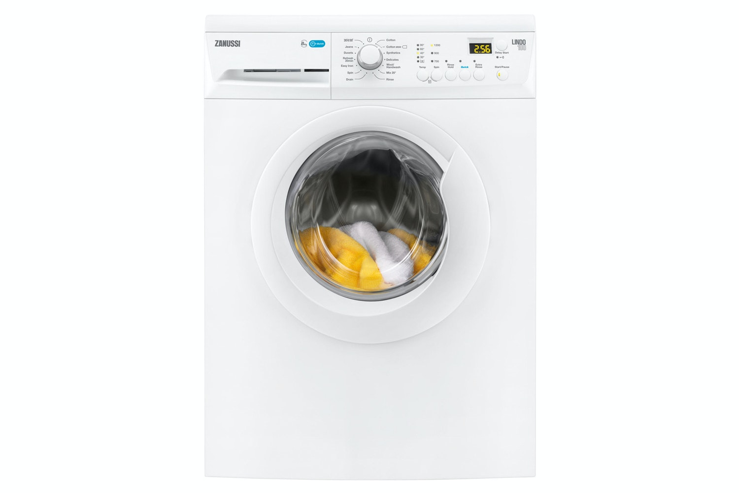 Zanussi 8Kg Freestanding Washing Machine | ZWF81243W